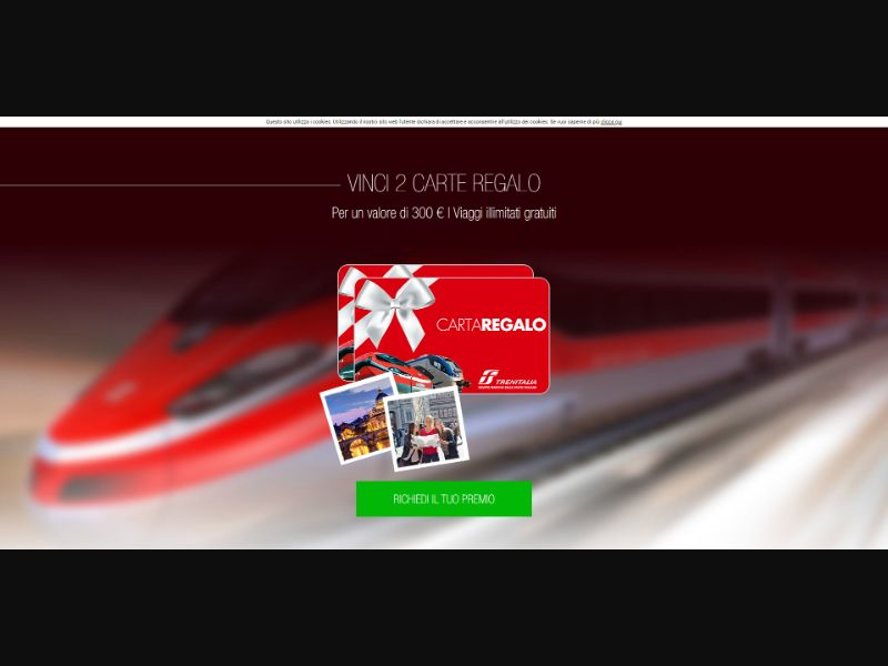 TrenItalia Voucher - INCENT - IT