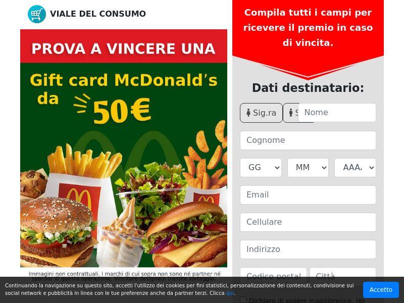 100€ in buoni spesa Scoop!
