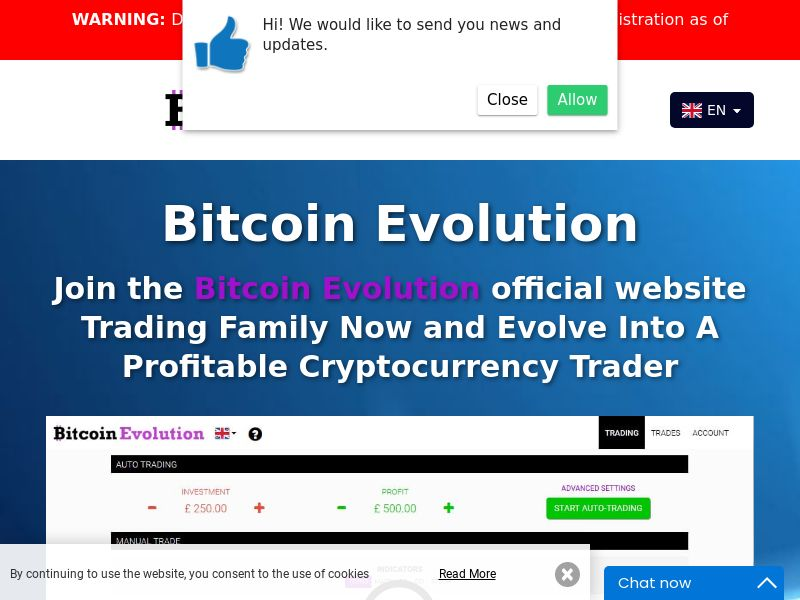 The Bitcoin Evolution - AU (AU), [CPA]