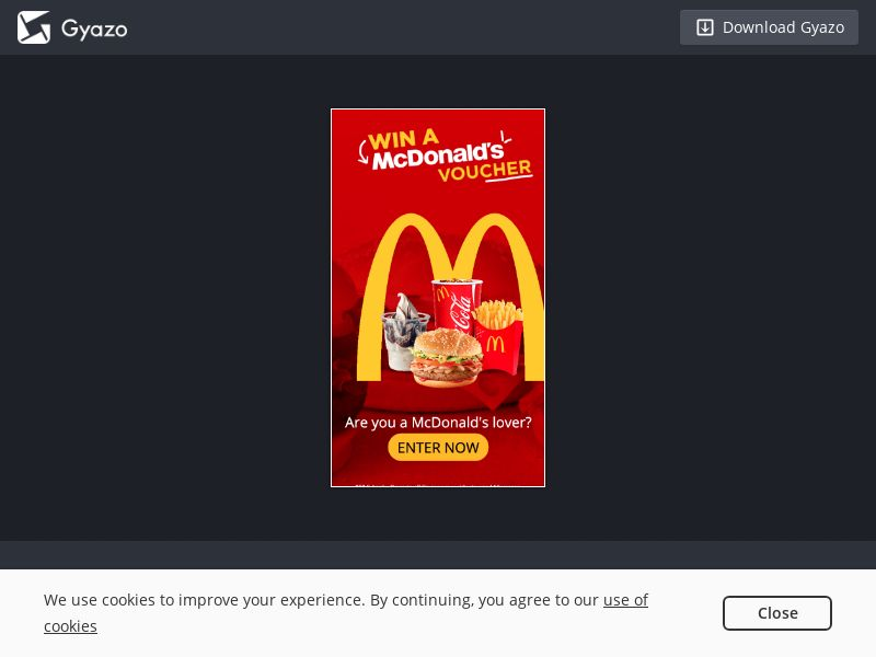 SG - McDonalds