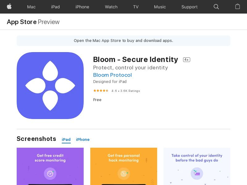 Bloom - iOS - INCENT - US