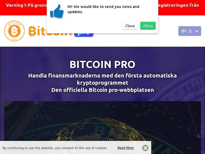 Bitcoin pro Swedish 2301
