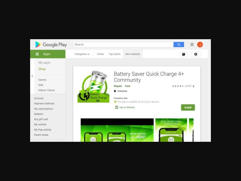 BatterySaver - CPI - Android (IE)