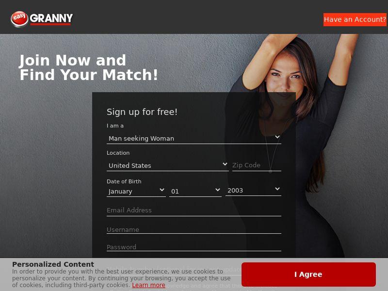 EasyGranny - US, CA, AU, NZ