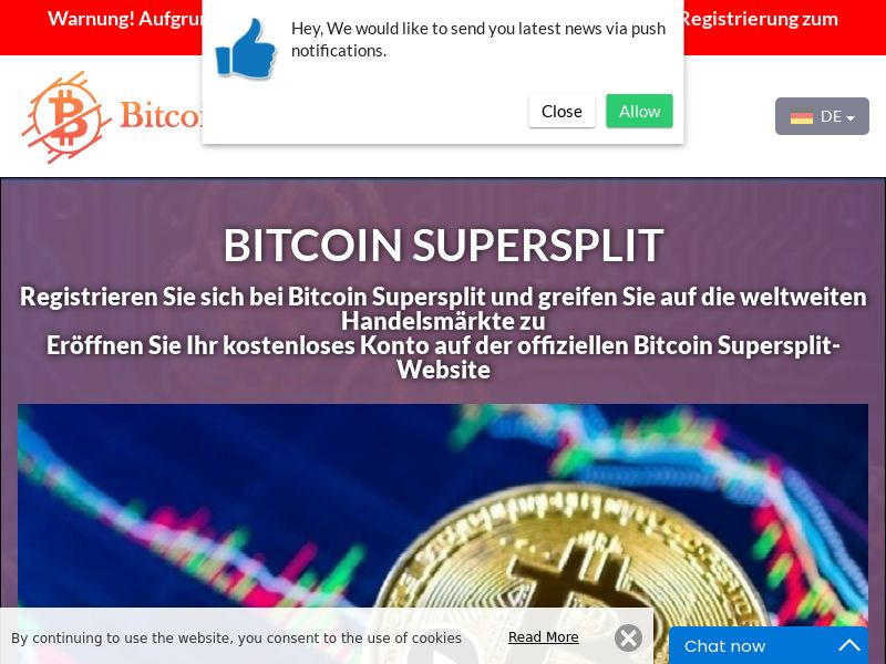 Bitcoin Supersplit German 3606