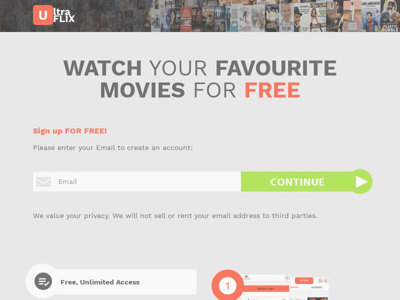 AdCenter Movies Shortflow (AU) - CPA, VOD, Free Trial, CC Submit, Multi-Geo
