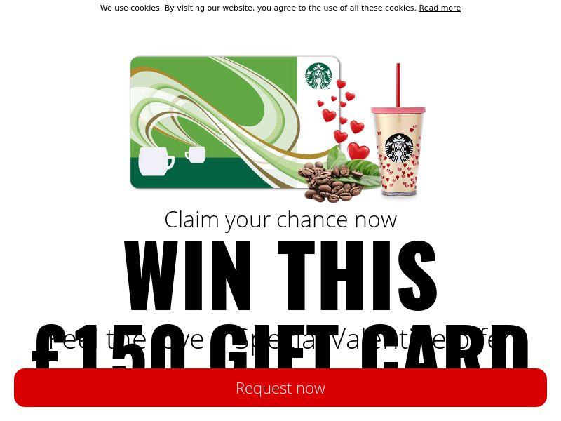 Starbucks Valentine voucher - UK