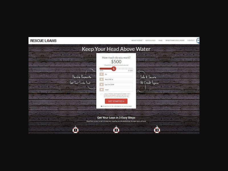 Rescue Loans - Personal Loan