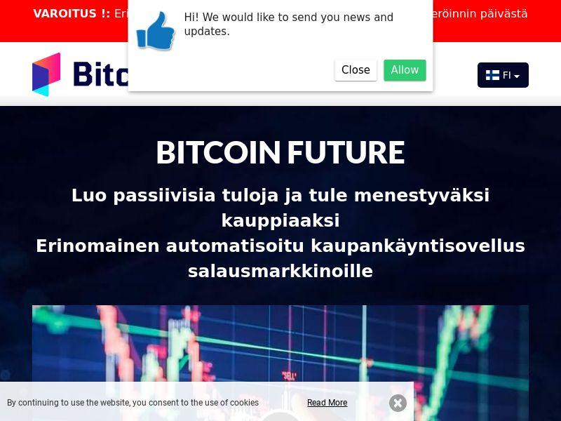Bitcoin Future Finnish 2200