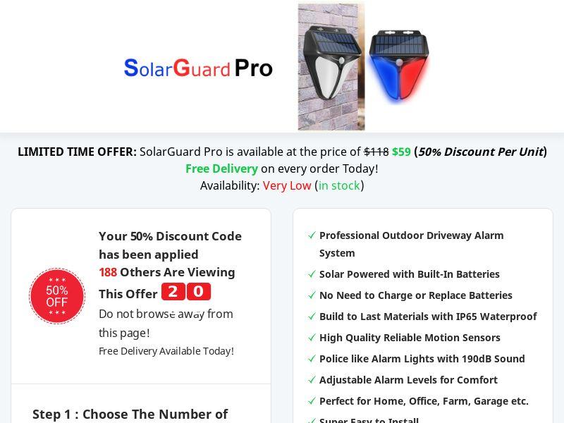 SolarGuard Pro