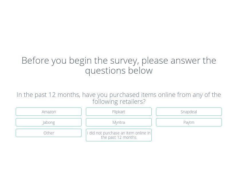 Online Survey (Mobie) - DE