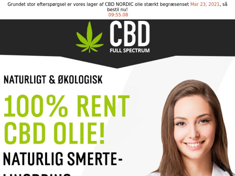 CBD Oil [DK] (Email,Social,Banner,Native,Push,SEO,Search) - CPA