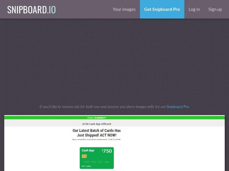 41336 - US - CDS - $750 CashApp Promo - SOI
