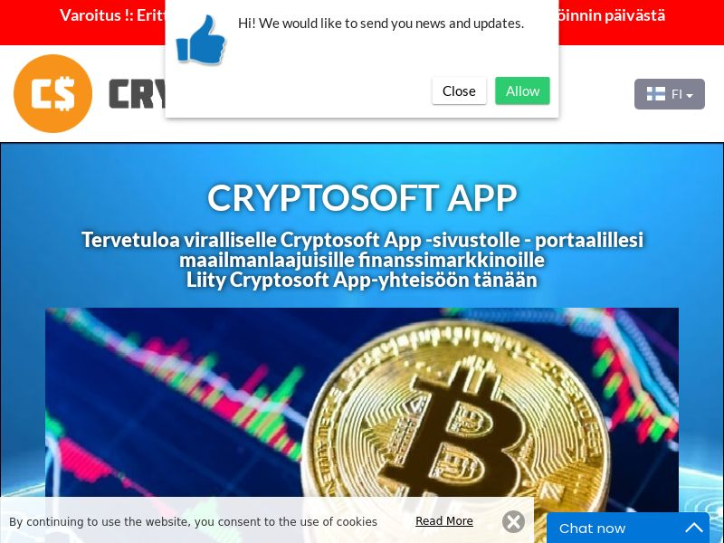 Cryptosoft App Finnish 2975
