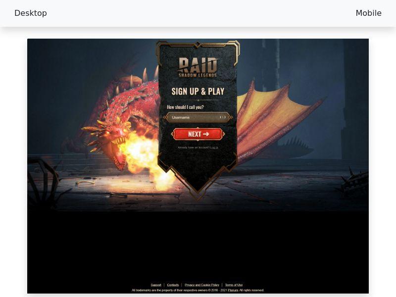 Raid: Shadow Legends - CPP [Tier 1]