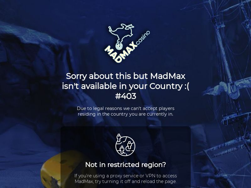 Madmax casino CPA 4 countries