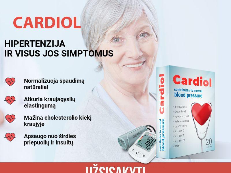Cardiol LT - pressure stabilizing product