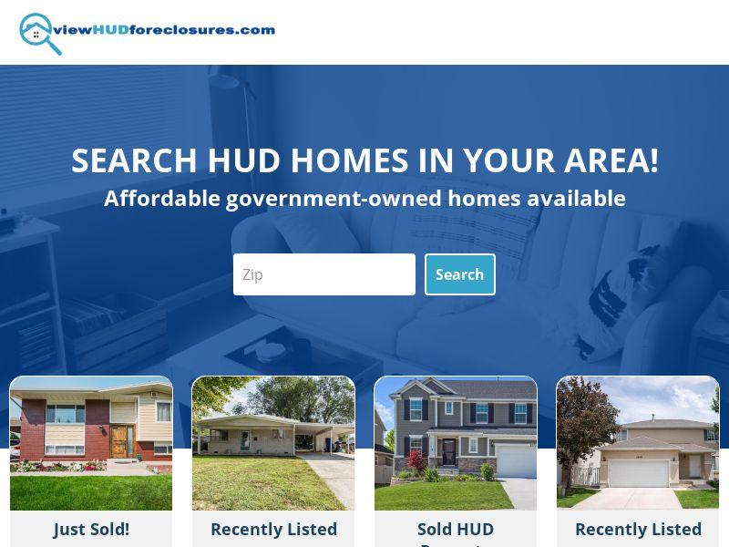 View Hud Foreclosures   US