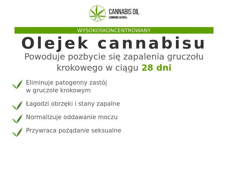 Cannabis Oil PL (prostatitis)