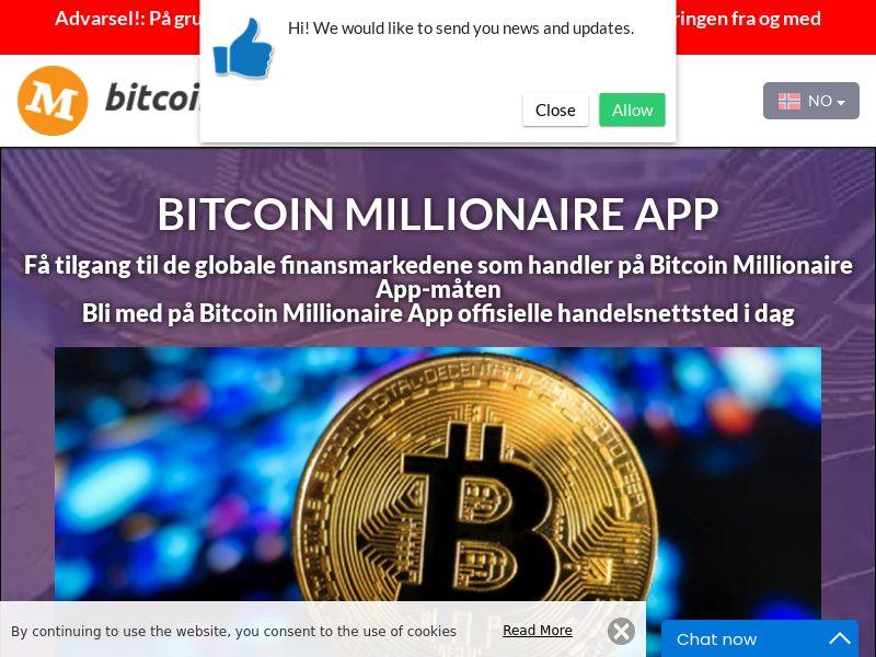 Bitcoin Millionaire App Norwegian 2889