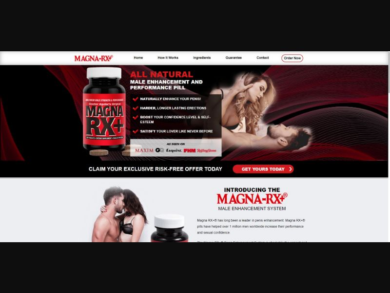 Doctor Aguillars Original Magna RX Plus - Male Enhancement - SS - [All GEOs]