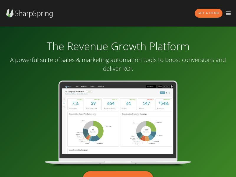 SharpSpring Marketing Automation & CRM