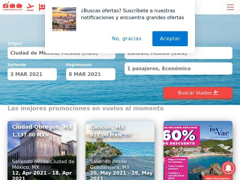 Viajacompara.com MX