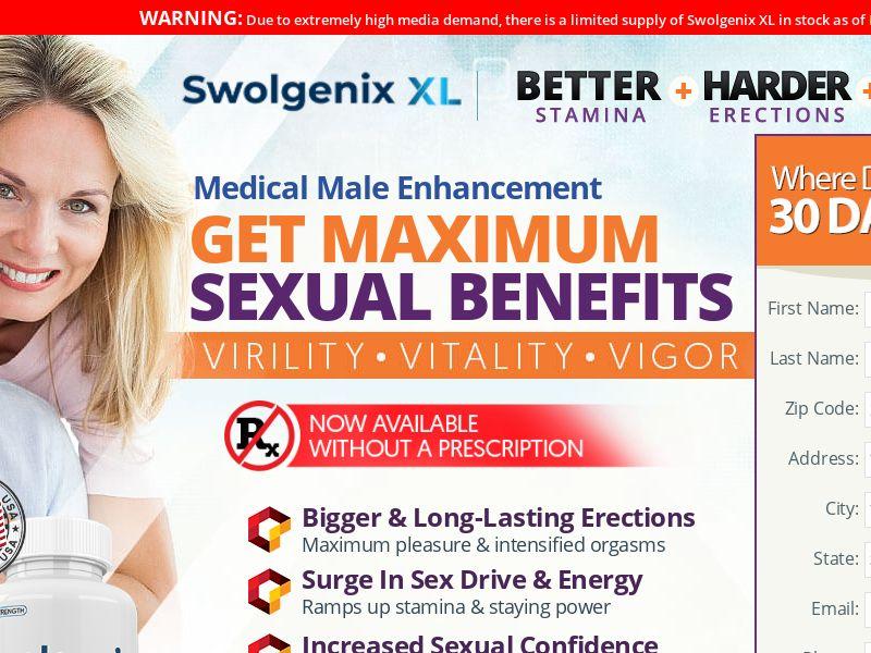 SwolGenixx XL (CPA) (US) (SURVEY ALLOWED) (SMS ALLOWED)
