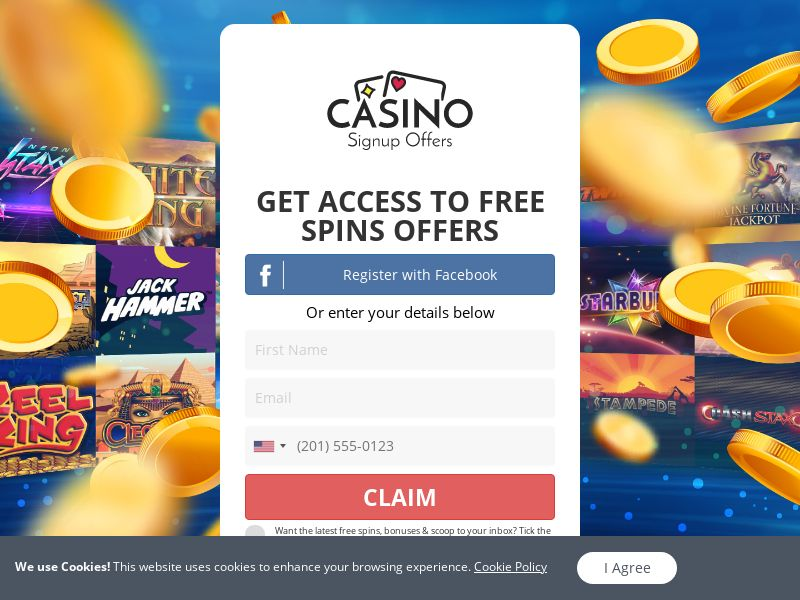 Casino Signup Offers - First page - UK
