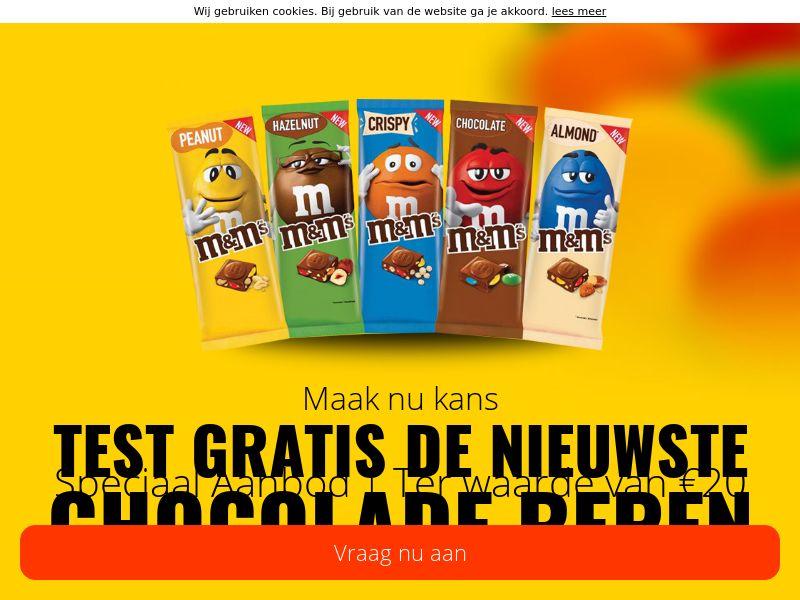 M&M Bar [NL] (Email,Social,Banner,PPC,Native,Push,SEO,Search) - CPL