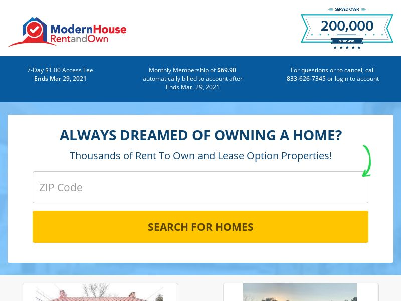 Modern House Rent to Own (US) (Trial) (Personal Approval)