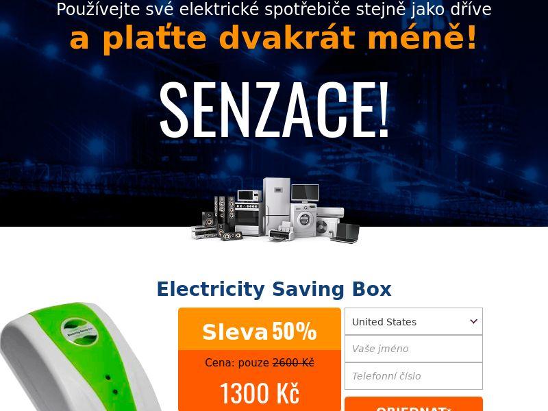 Electricity saving box - CZ