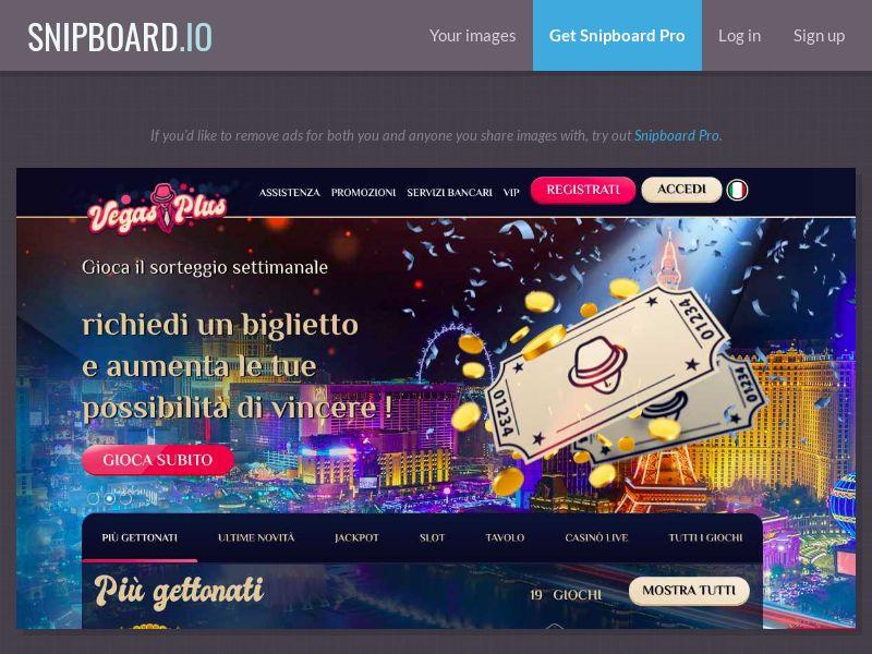37044 - IT - Casino - Vegas Plus - CPS