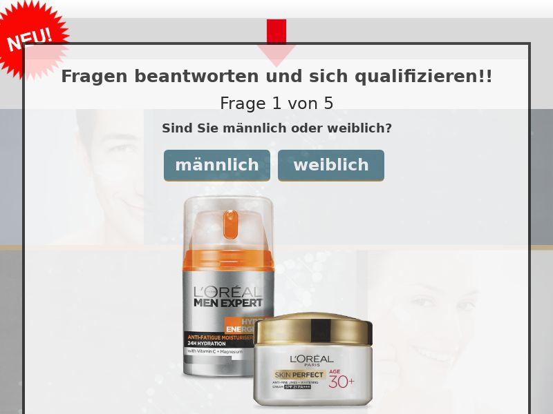 9821) [WEB+WAP] L'Oreal Skin Care - DE - CPL