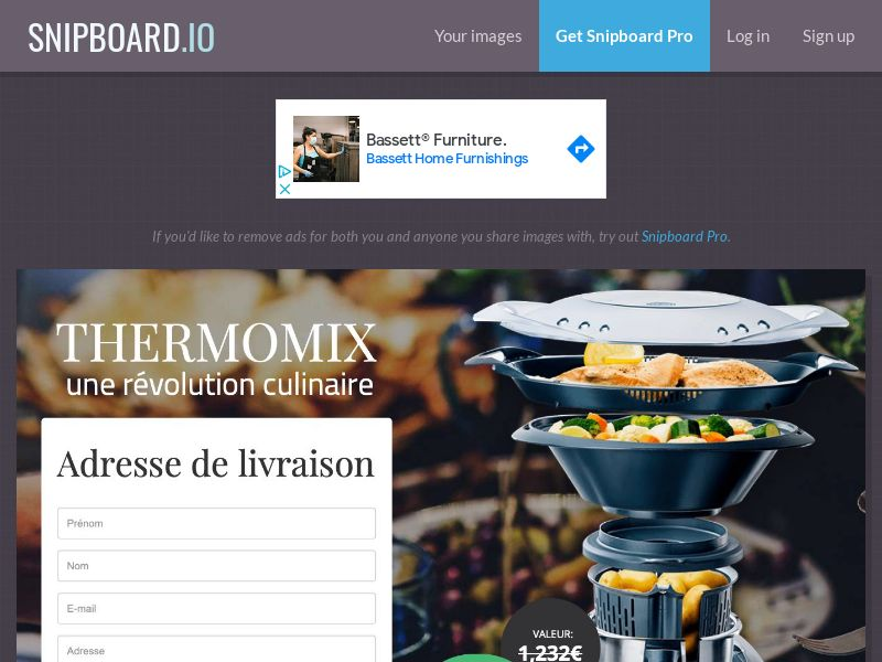 SteadyBusiness - Thermomix LP31 FR - CC Submit
