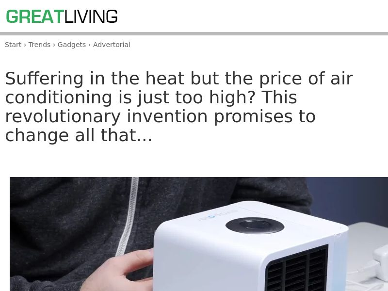 Awesome Air Cooler [INTL] (Email,Social,Banner,Native,Push,SEO,Search) - Revshare