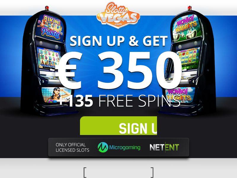 Slotty Vegas EN Welcome Bonus - FB+ apps - 8 Countries