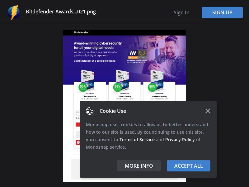 United Kingdom (UK) - BitDefender Antivirus Plus - 12.00%- 40.00% (Responsive)