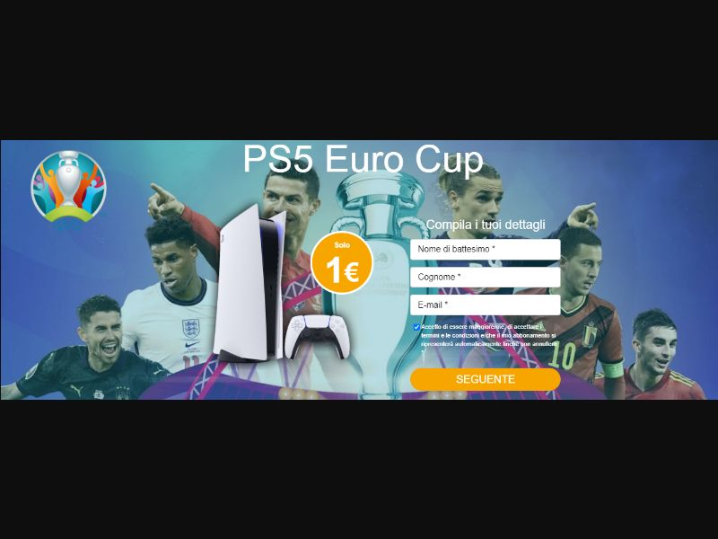 PS5 EuroCup (IT) (Trial) (Personal Approval)