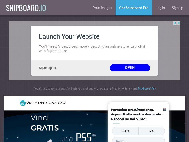 Viale del Consumo - PS5 Playstation 5 IT - SOI