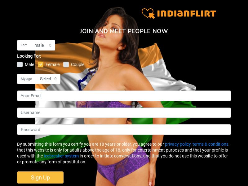 Indianflirt PPT Trial CPA IN