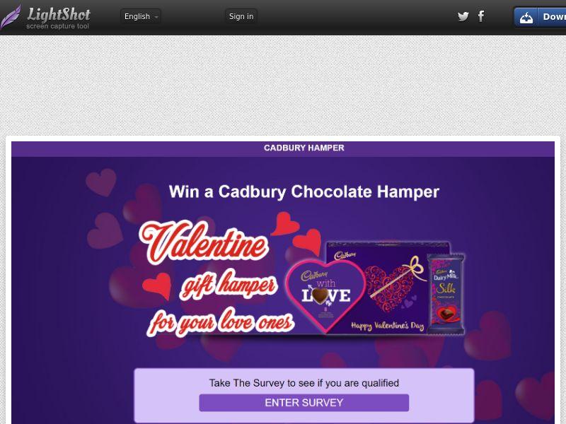 Win a Cadbury Chocolate Hamper (AU) (CPL) (Personal Approval)
