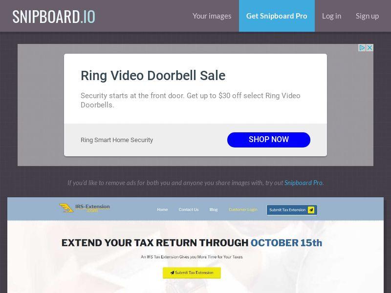 40513 - US - IRS Tax Extension.com - US - CPL - [Display]