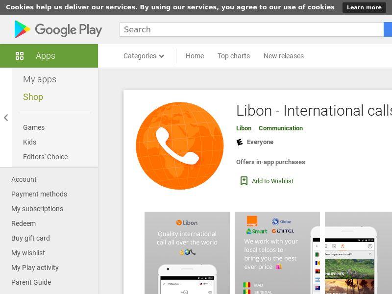Libon Android US CPA