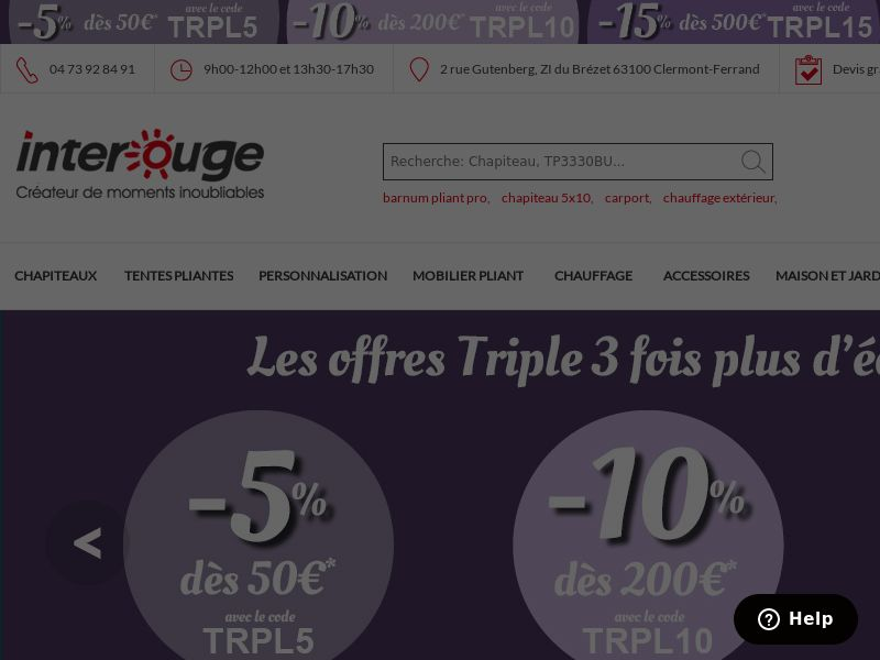 Interouge - FR (FR), [CPS], House and Garden, Furniture, Garden, Sell, shop, gift