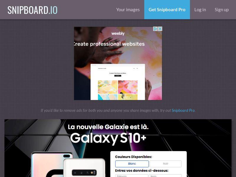 BigEntry - Samsung Galaxy S10 v5 FR - CC Submit