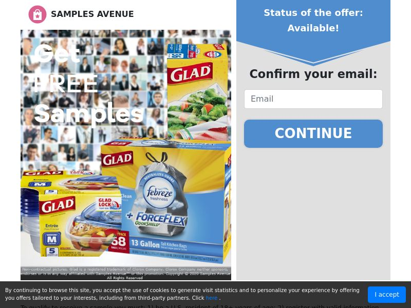 Get Free Glad Products - Sweepstakes - US