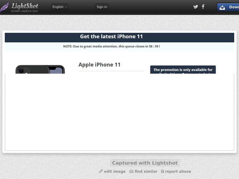 GetRealDeal CPort iPhone 11 Amazon (Sweepstake) (CC Trial) - Malaysia