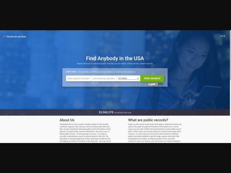 People Searcher - App - Trial - [US]