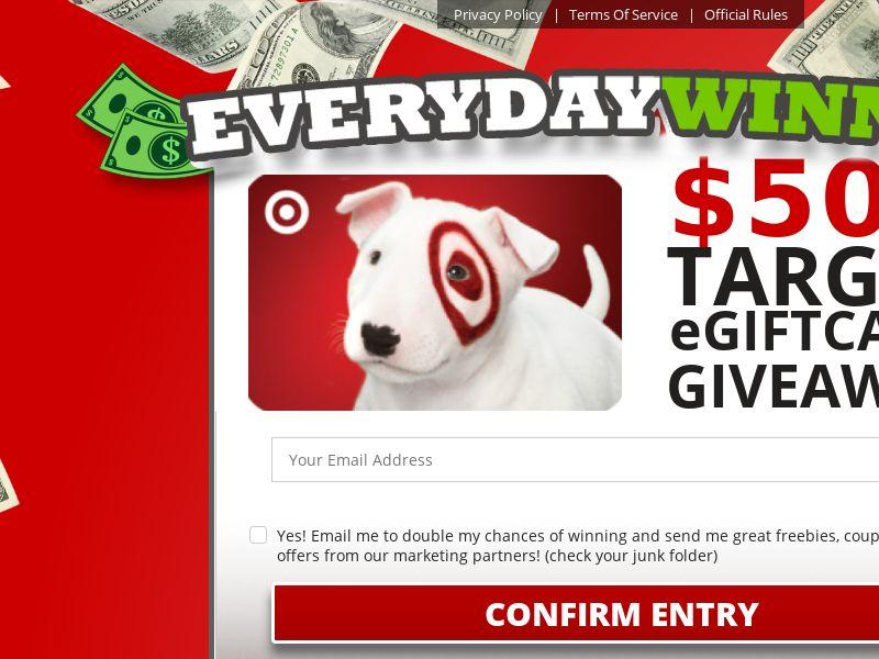 Everyday Winner - Target Giftcard CPL [US]
